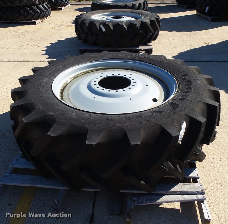 (5) Goodyear 520/85R46 tires