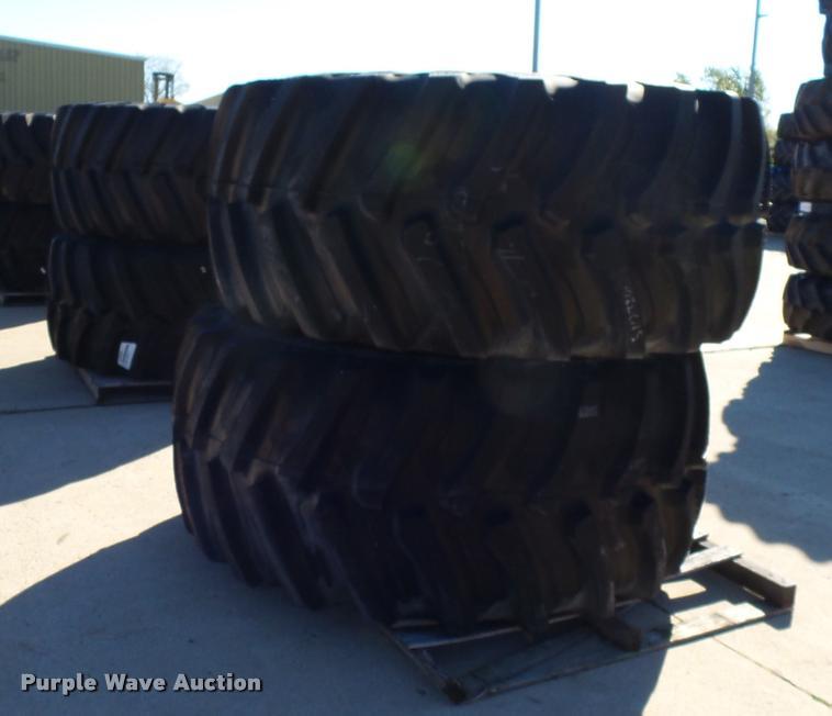 (8) Firestone 800/70R38 tires