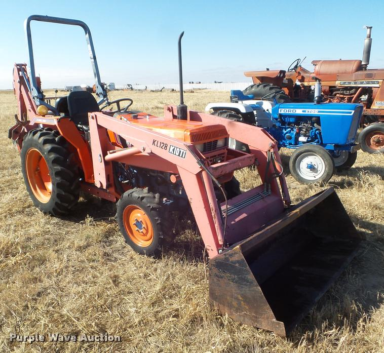 1999 Kioti LK3054 MFWD tractor