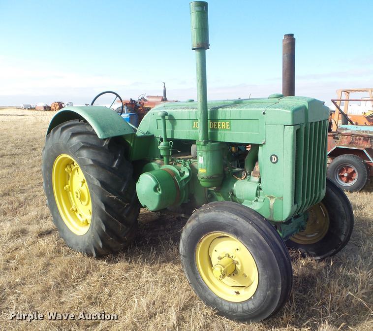 1945 John Deere D tractor