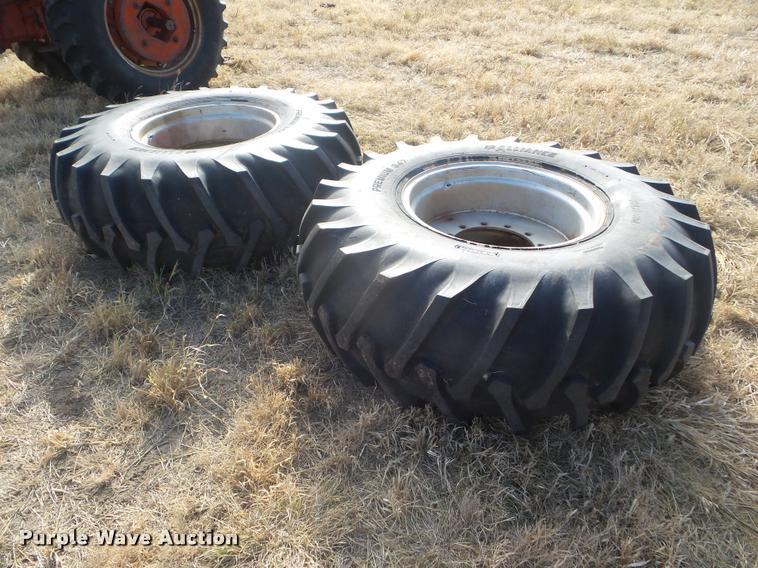 (2) Massey-Ferguson 23.1-30 combine tires