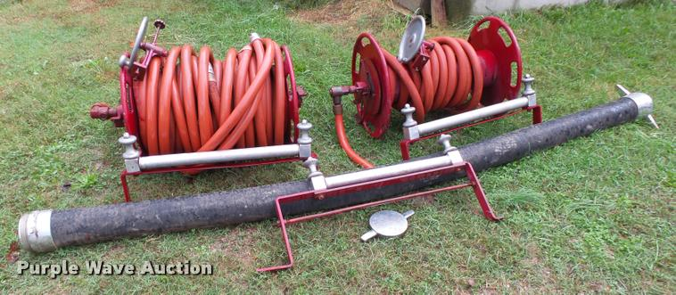 (2) hose reels