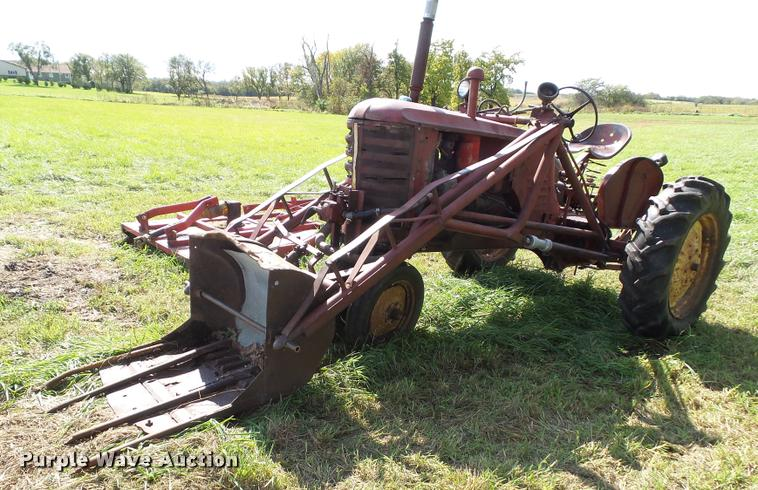1949 Massey-Harris 22-GP tractor