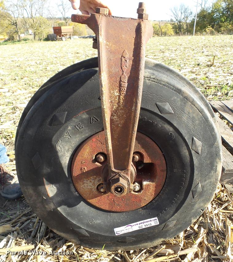 International Farmall single front wheel