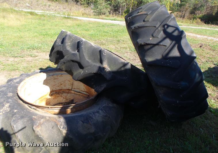 B.F. Goodrich 18.4-38 tires and wheels