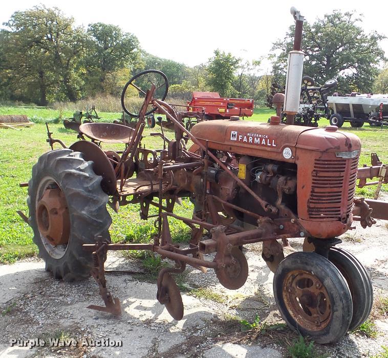 Farmall B tractor