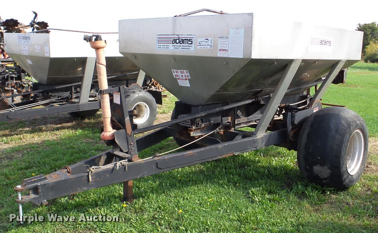 Adams fertilizer spreader