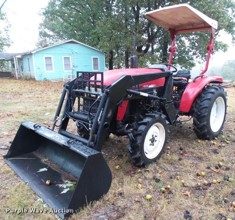 2009 Jinma 454 MFWD tractor