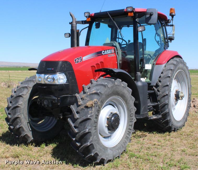 2012 Case IH Maxxum 125 MFWA tractor