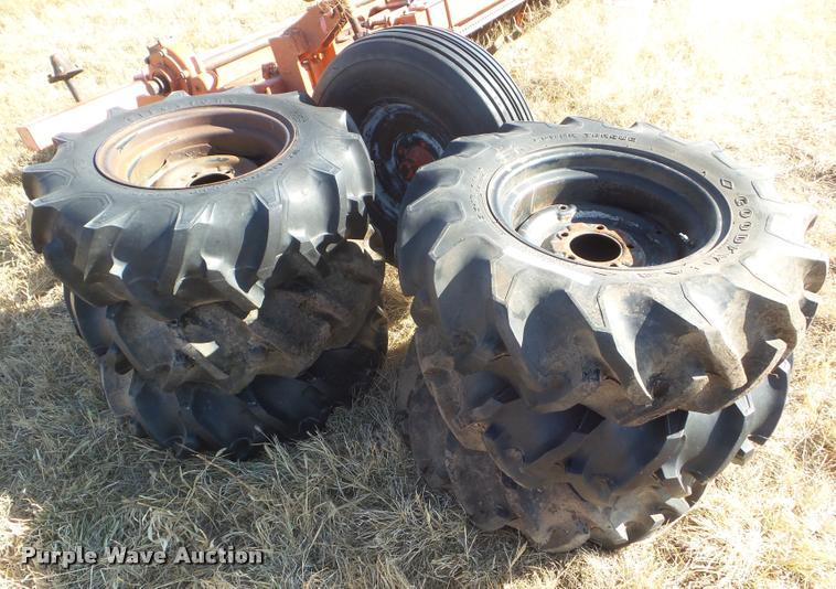 (6) 9.5-16 tires