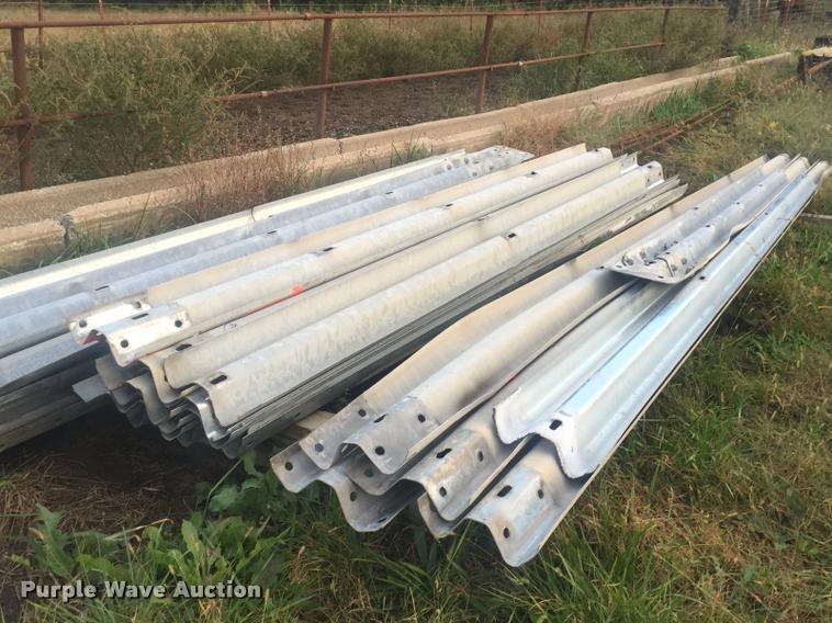 (44) galvanized guard rails