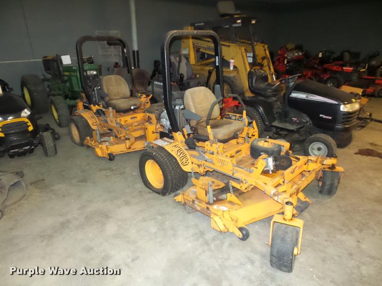 (2) Scag Turf Tiger ZTR lawn mowers