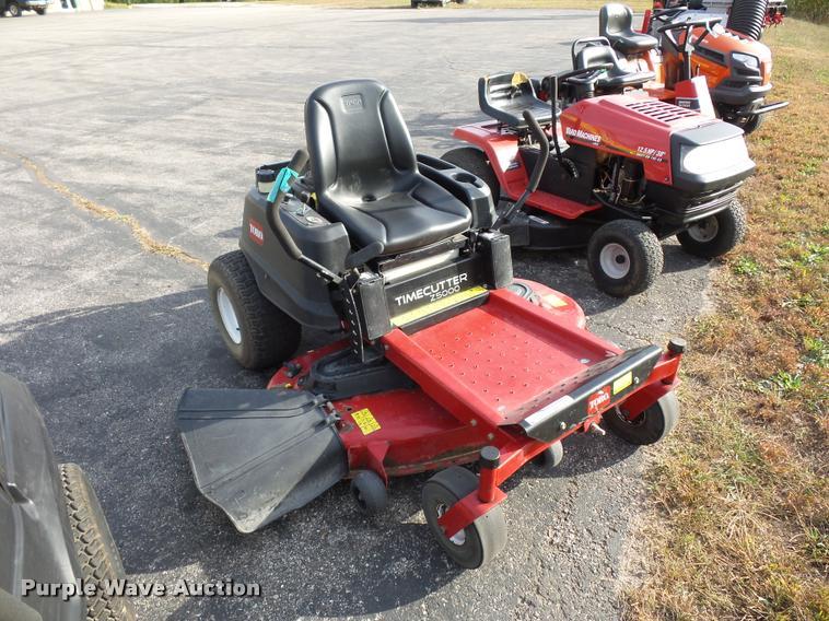 Toro Timecutter Z5000 ZTR lawn mower