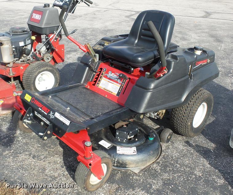 Troy-Bilt XD ZTR lawn mower