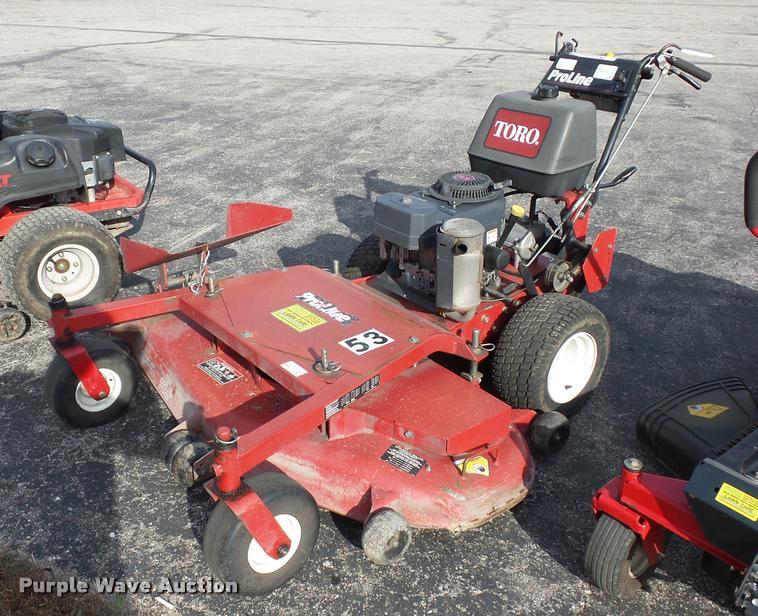 Toro Proline ZTR lawn mower