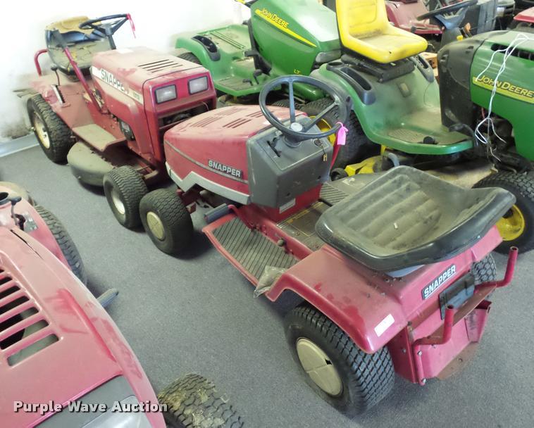 (2) Snapper lawn mowers