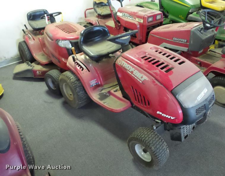 (2) Troy-Bilt lawn mowers