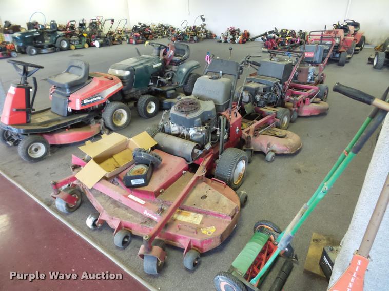 (3) ZTR lawn mowers