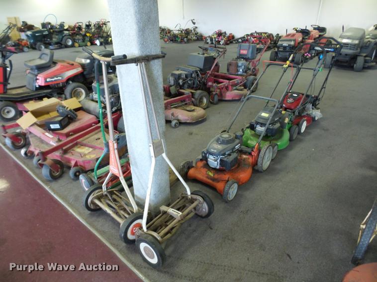 (6) push mowers