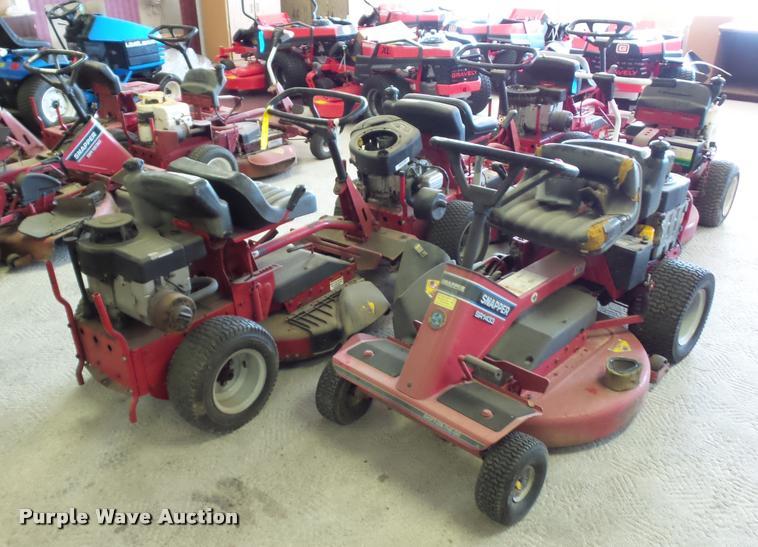 (5) Snapper lawn mowers
