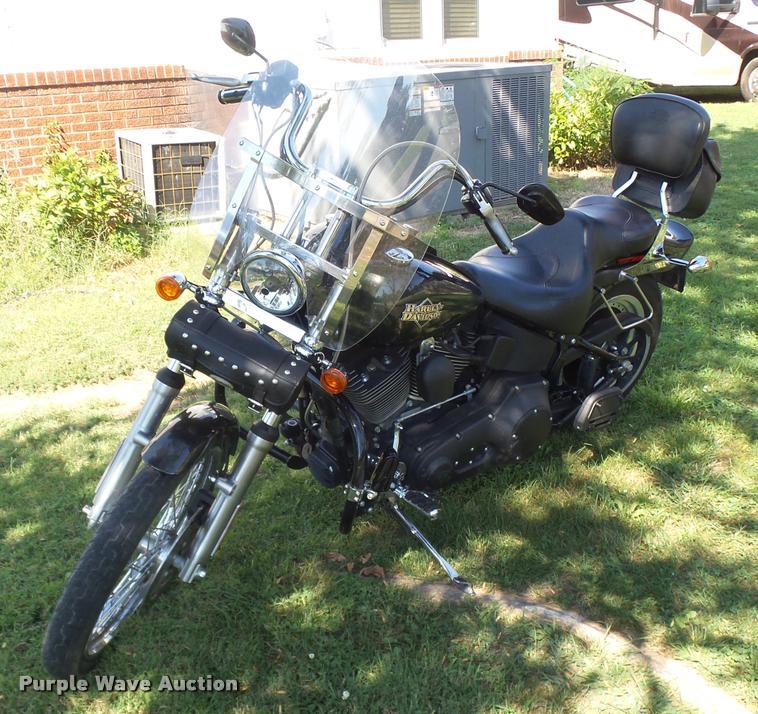 2005 Harley Davidson 1450 Softail Night Train motorcycle
