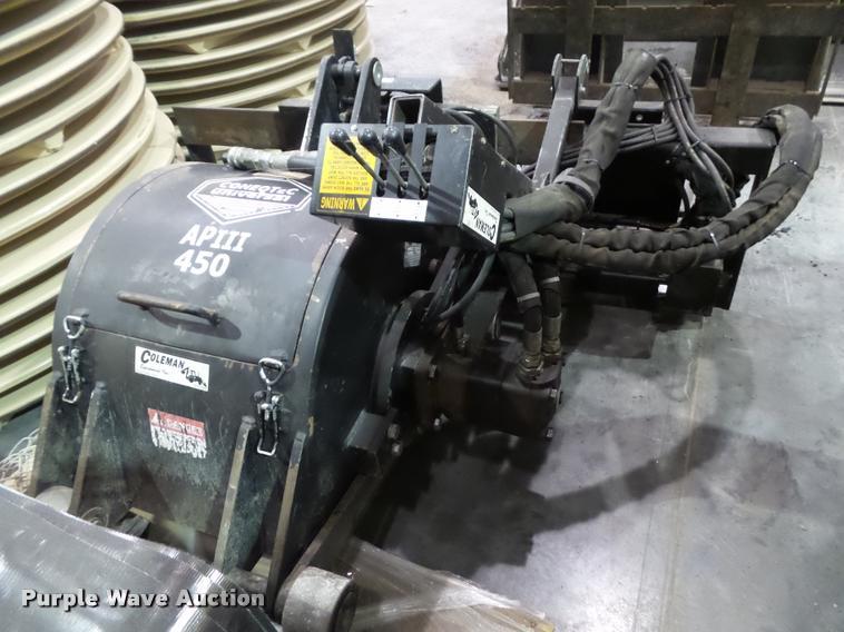 2008 Coneqtec AP450 milling skid steer attachment