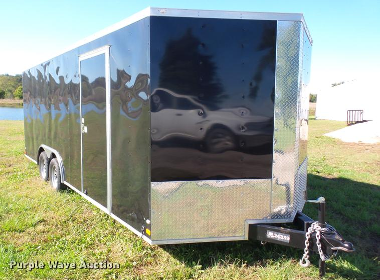 2016 Covered Wagon enclosed cargo trailer
