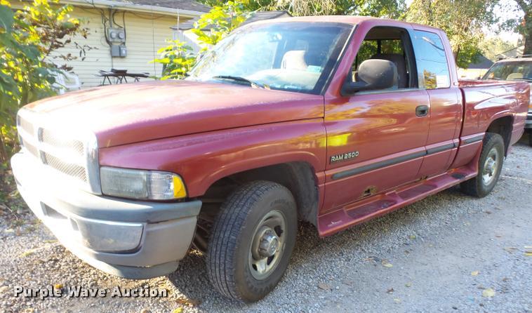 1999 Dodge Ram 2500 Quad Cab pickup truck