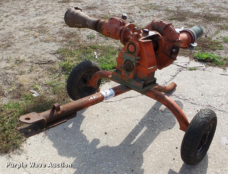 Capraril irrigation pump