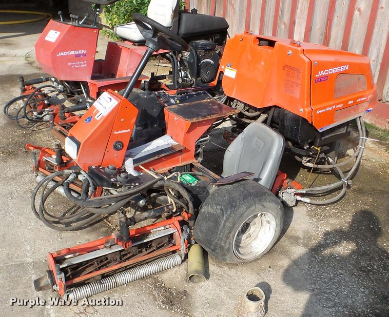Jacobsen Greens King IV 1962D mower