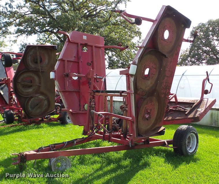 Progressive rotary mower