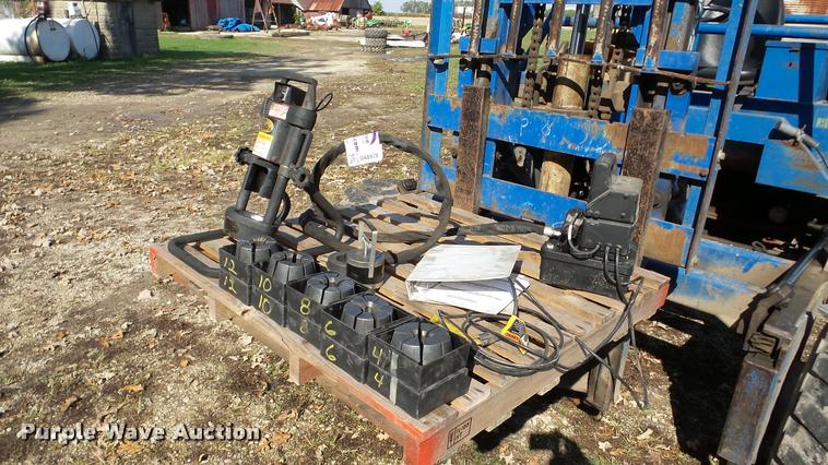 Gates Mobilecrimp 4-20 crimping machine