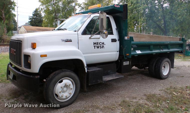 1995 GMC TopKick dump truck