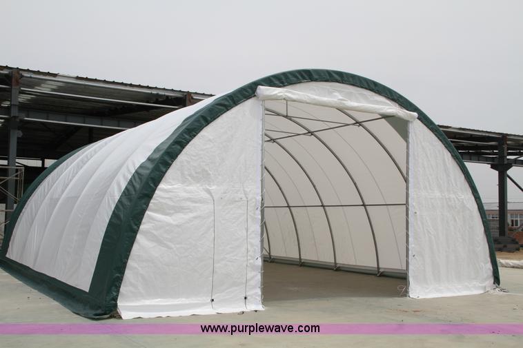 30 x 85 x 15 dome storage building