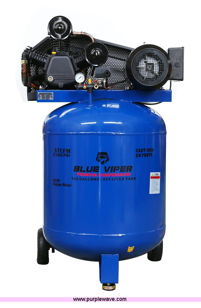 Blue Viper air compressor