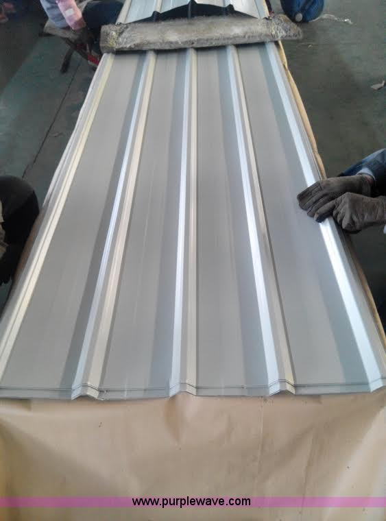 (60) sheets of steel siding