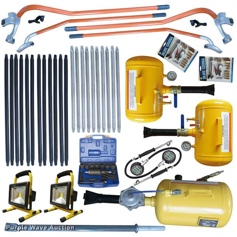 78 piece industrial tire changing kit