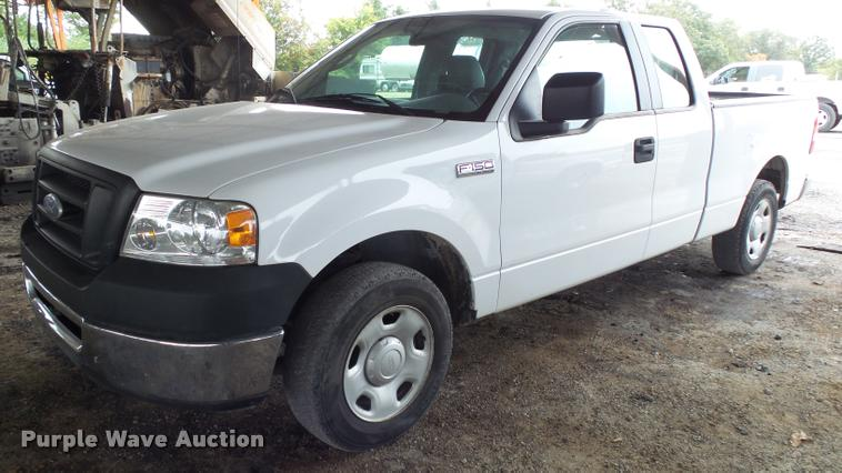 2007 Ford F150 SuperCab pickup truck