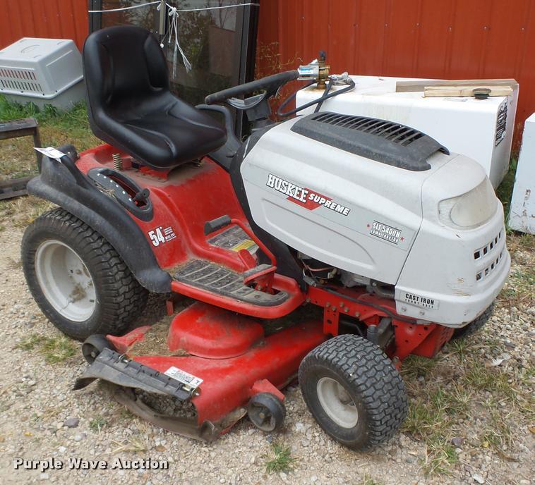 2007 Huskee SLT5400H lawn mower