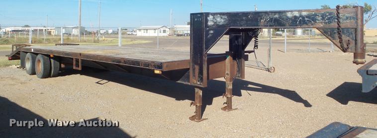 1991 J-Rod equipment trailer