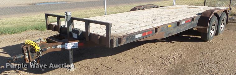 2016 shop built utility trailer