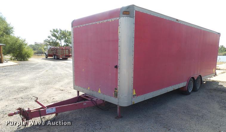 1995 Shop built enclosed cargo trailer