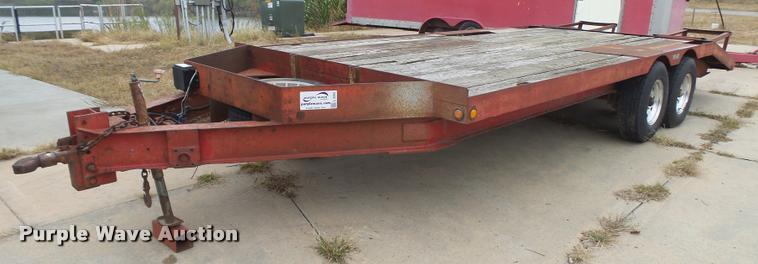 1976 JFW equipment trailer