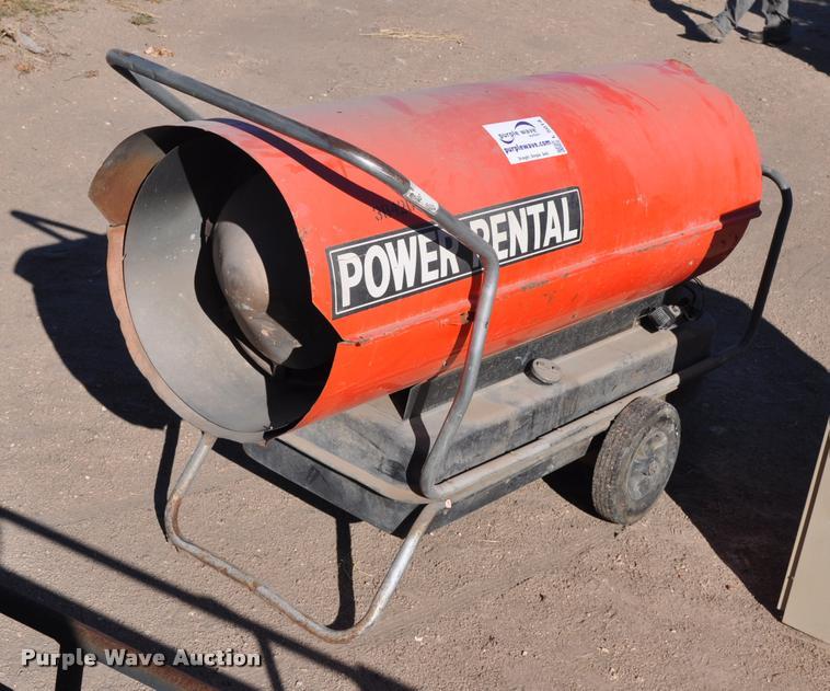 Power Rental space heater