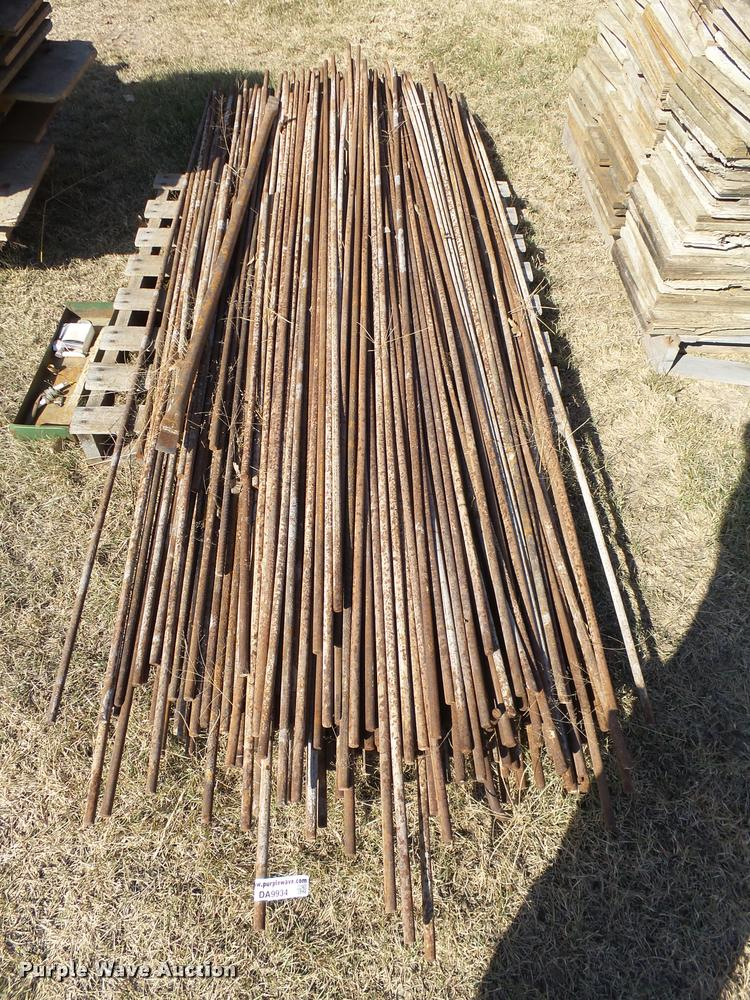 Approximately 300 sucker rods