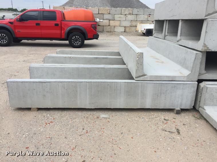 (12) concrete bunks
