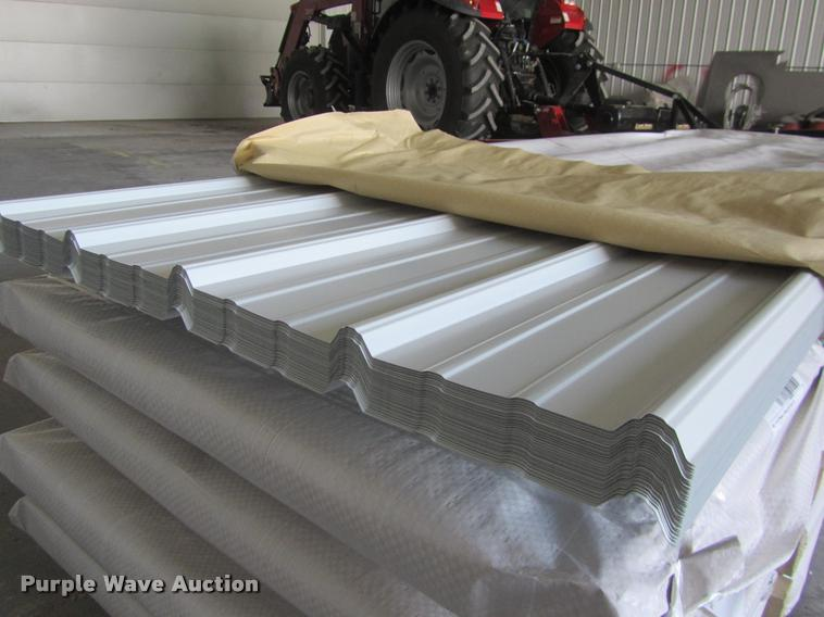 (70) sheets of metal siding/roofing