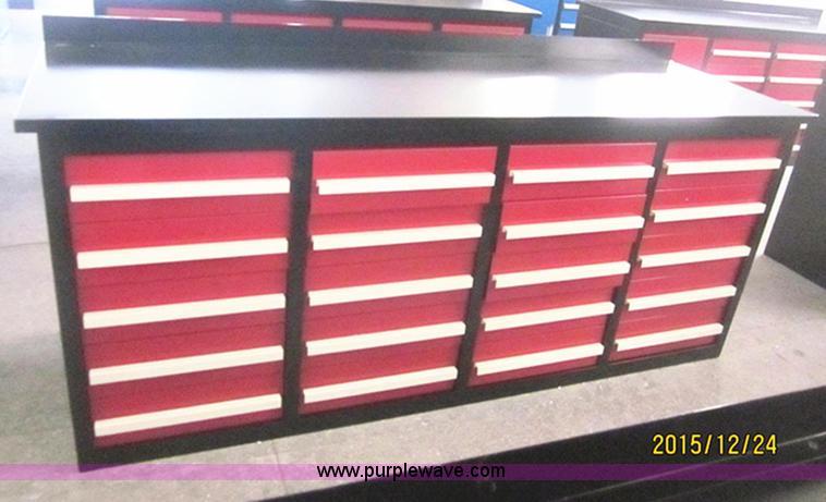 Steel tool bench