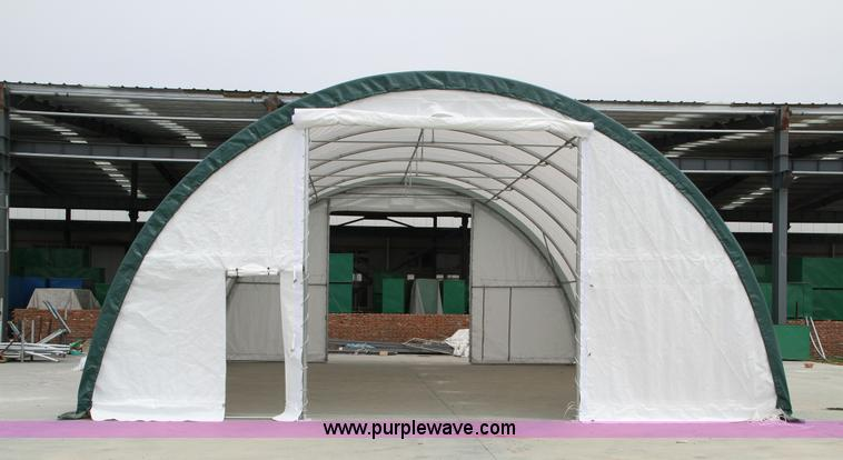 30 x 40 x 15 dome storage building