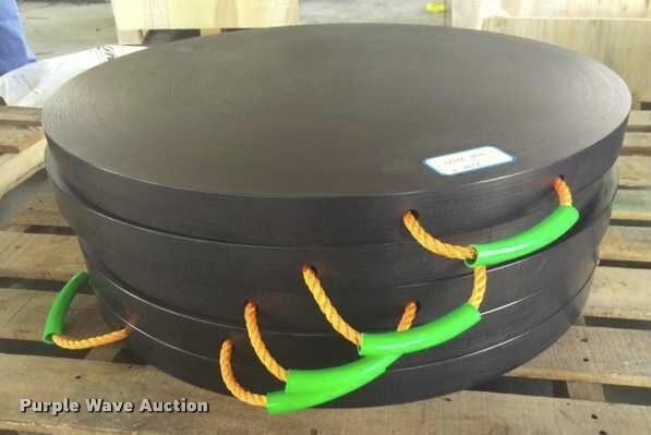 (4) CWS crane rigging pads